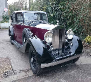 1937 Rolls Royce Phantom in UK