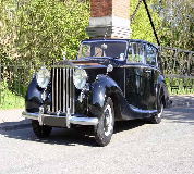 1952 Rolls Royce Silver Wraith in UK