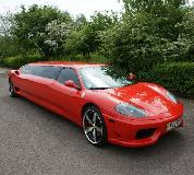 Ferrari Limo in UK