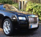 Rolls Royce Ghost - Black Hire in UK