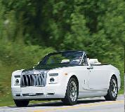 Rolls Royce Phantom Drophead Coupe Hire in UK