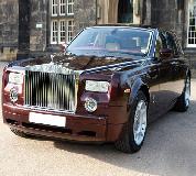 Rolls Royce Phantom - Royal Burgundy Hire in UK